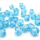 500g Acrylic Corner Bead White Core Inside Dye / Craft  Jewelry accessory Lantern Blue