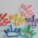 Lot of 200pcs Paper Clip Crown Shaped / Bookmark office