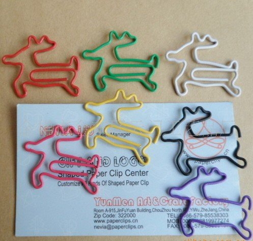 Lot of 200pcs Paper Clip Deer Shaped / Bookmark office
