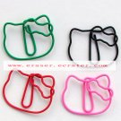 Lot of 200pcs Paper Clip Cat Shaped / Bookmark office B3