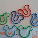 Lot of 200pcs Paper Clip Mouse Shaped / Bookmark office B3