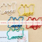 Lot of 200pcs Paper Clip Train Shaped / Bookmark office