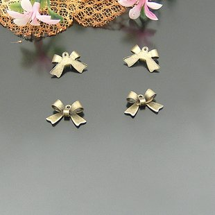 Lot of 1000pcs Bow 15 x 8mm toy/jewelry bracelet metal alloy Charm