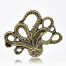 60 XDollhouse Octopus  /jewelry Pendant metal alloy charm 44 x 36mm