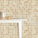 Mosaic Sticker Tile Transfer Bathroom Kitchen 50cm x 50cm Beige