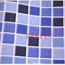 Mosaic Sticker Tile Transfer Bathroom Kitchen 50cm x 50cm Royal Blue
