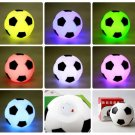 10pcs Flash Light Up Football Soccor Lamp Night Light Color Change