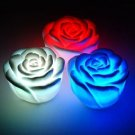10pcs flash Color Changing Rose Love Heart Shape Romantic Lamp Light B3