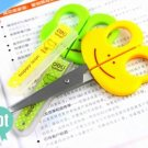 5pcs Frog Shaped Kid Safety Scissors Art Craft 5''
