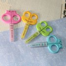 5pcs Seahorse Shaped Kid Safety Scissors Art Craft 5''