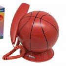 Corded RJ11 Unique Decorative Basketball Telephone