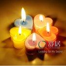 10pcs Heart LOVE Candles Wedding Bridal Shower Favors Decorations