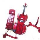 Guitar Novelty Retro Corded Telephone