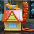Garfield the Cat House Hanging Cartoon Animal Telephone Phone