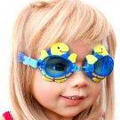 Kid Swimming Pool Turtle  Slicon Swim Glasses Glass NIB G027