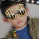Crazy Big Specs Dollar Glasses Clown Costume Theatre Prop Red R009