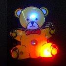 Lot of 25pcs bear Brooch Luminous Party Favor LP015