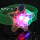 Adjustable Lot of 12pcs Starfish Luminous bracelet bangle Party Favor LB027