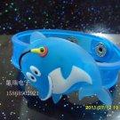 Adjustable Lot of 12pcs dolphin Luminous bracelet bangle Party Favor LB009