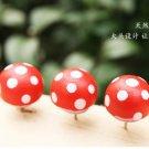 Lot of 50pcs Mushroom Push Pin Thumb Tacks office school home PP001
