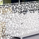 Mosaic Sticker Tile Transfer Bathroom Kitchen Window Leaf  100cm x 50cm MS004