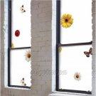 Mosaic Sticker Tile Transfer Bathroom Kitchen Window BUTTERFLY SUNFLOWER  92cm x 50cm MS021