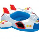 Inflatable Baby Swimming Seat Airplane airship spaceship Floating Ring for Kid SR005