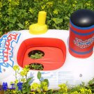 Inflatable Baby Swimming Seat train Floating Ring for Kid SR012