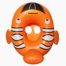Inflatable Baby Swimming gold Fish shaped Floating for Kid SR017
