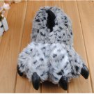 Adult Plush Monster Tiger lepord Foot Paw Animal Claw Slipper party SH002
