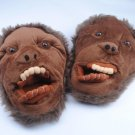 Adult Plush Monster Monkey Ape Foot Paw Animal Claw Slipper party SH011