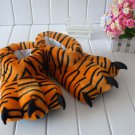 Adult Plush Monster TIGER Foot Paw Animal Claw Slipper party  SH013