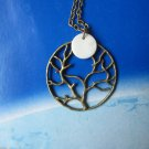 tree of life full moon midnight romance under the moonlight shell NW598