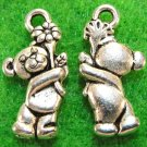 Lot of 200pcs mini BEAR doll house miniature toy/jewelry Charm 19x9 CM1301
