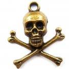 Lot of 300pcs mini skull halloween dollhouse miniature toy/jewelry Charm CM828