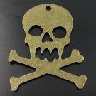Lot of 150pcs mini skull halloween dollhouse miniature toy/jewelry Charm CM832