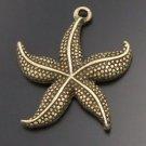 Lot of 200pcs mini Starfish dollhouse miniature toy/jewelry Charm CM821