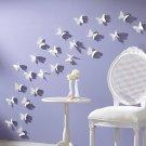 36pcs 3D Wall Sticker Butterflies Home Decor Room Decorations Stickers