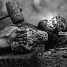 Crucifing Jesus