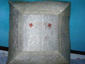 Indian Silk Cushion Covers x 2