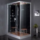 "59"" EAGO Platinum DZ961F8 Steam Shower Enclosure Unit (Left Side)"