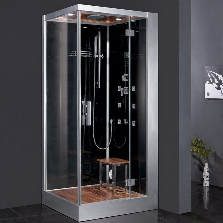 "39.4"" EAGO Platinum DZ960F8 Steam Shower Enclosure Unit (Right Side)"