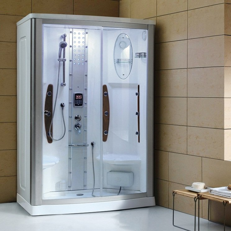 "55"" Mesa WS-803A Steam Shower Enclosure Unit (Right Side)"