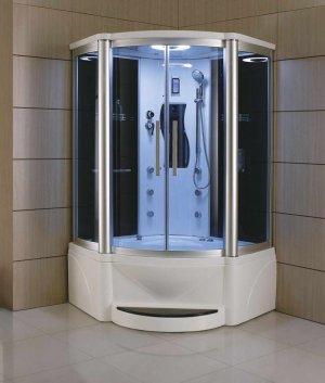 "48"" Eagle Bath WS-609P Steam Shower Sauna Enclosures w/ Whirlpool Bathtub Combo Unit"