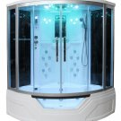 "59"" Eagle Bath WS-703 Steam Shower Sauna Enclosures w/ Whirlpool Bathtub Combo Unit"