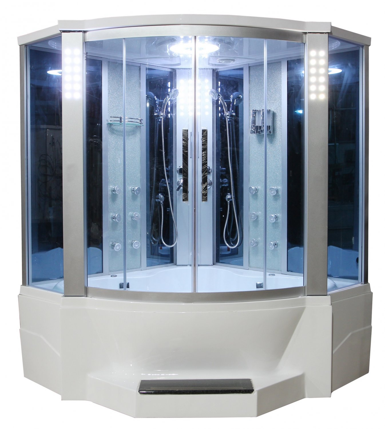 Whirlpool Bath And Shower Combo 66 Quot Eagle Bath Ws 701 Steam Shower Sauna Encloures W