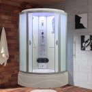 "36"" Eagle Bath WS-902L-FG-36 Steam Shower Enclosure w/TUB (Frosted Glass)"