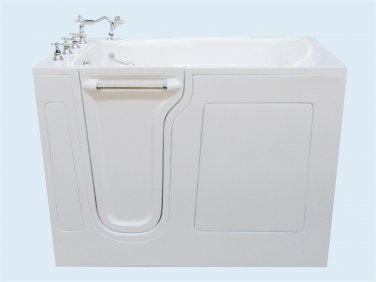 "53"" Eagle Bath CWB-3053 Soaker Series Walk-In Bathtub (Left)"