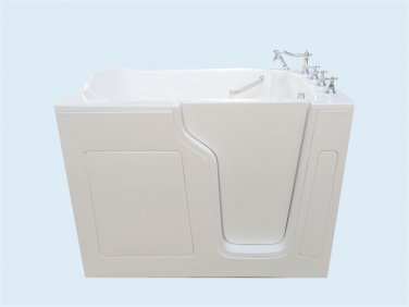 "55"" Eagle Bath CWB-3555 Soaker Series Walk-In Bathtub (Right)"