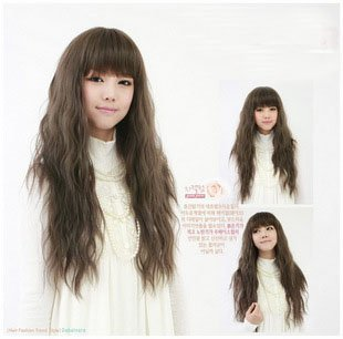 Long WAVE Cosplay Everyday Full Wigs With 1Cap WL27